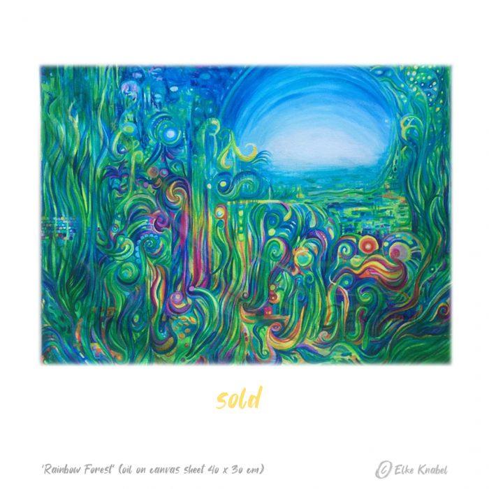 Elke Knabel_Rainbow Forest